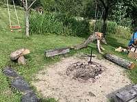 Ohniště - chata k pronajmutí Paseky nad Jizerou