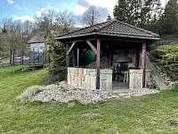 Altán ke grilování - pronájem chalupy Šimonovice - Rašovka