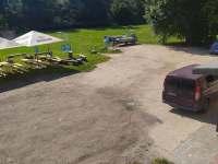Parkování pod domem - ubytování Tanvald