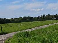 Hned za zahradou ranče - chalupa ubytování Janovice v Podještědí