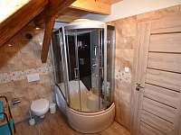 Koupelna - chalupa k pronajmutí Janovice v Podještědí