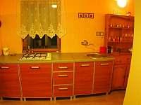 Kuchyň - chata ubytování Nová Ves nad Nisou