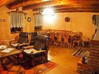 Obývací pokoj - chata k pronajmutí Nová Ves nad Nisou