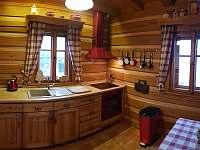 Roubenka čp 135 - plně vybavená kuchyně i s myčkou - Jílové u Držkova