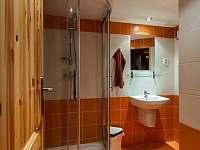Koupelna se saunou - chalupa k pronájmu Hejnice
