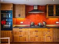 Kuchyňská linka - chalupa ubytování Hejnice