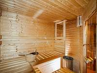 Sauna - chalupa k pronajmutí Hejnice