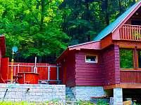 Srub ubytování v obci Liščí Kotce