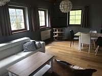 Obývací pokoj (Eduard) - chata k pronájmu Tanvald