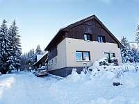 Dům z cesty - zima - chalupa ubytování Smržovka