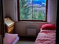 Malá ložnice - pronájem chaty Šumburk nad Desnou