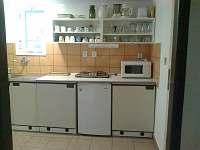 kuchyňka - chalupa k pronájmu Příchovice