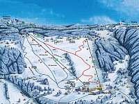 Ski areál Rejdice - chalupa k pronájmu Příchovice