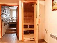 sauna v přízemním apartmánu - Kořenov - Polubný