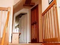 schodiště z přízemí do prvního patra - Kořenov - Polubný