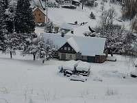 zimní den - chalupa k pronájmu Šumburk nad Desnou