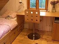 Podkroví - ložnice - pronájem chalupy Oldřichov v Hájích