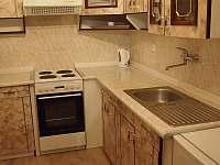 kuchyň - apartmán k pronájmu Albrechtice v Jizerských horách