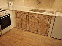 kuchyň - pronájem apartmánu Albrechtice v Jizerských horách