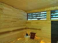 sauna - Pěnčín - Alšovice