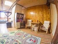 dětský koutek - chata k pronajmutí Vysoké nad Jizerou
