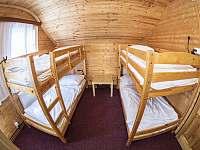 4 lůžka - pokoj č. 4 - pronájem chaty Janov nad Nisou