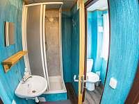 Koupelna v suterénu - chata k pronájmu Janov nad Nisou
