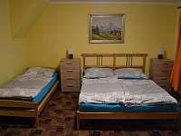 ložnice pro 4 osoby - Albrechtice v Jizerských horách