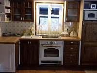 Kuchyňka ve světnici - Zlatá Olešnice