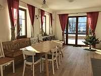 kuchyň se společenským prostorem - Bedřichov