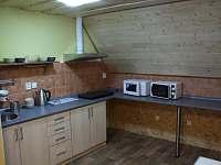 kuchyně v podkroví - Příchovice