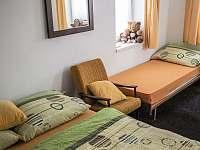 ložnice 4 lůžka - chalupa k pronajmutí Josefův Důl