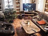 obývací pokoj - pronájem chalupy Josefův Důl