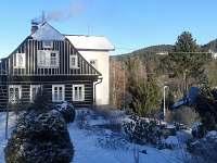 první sníh - chalupa k pronájmu Josefův Důl