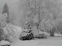 zima - chalupa ubytování Josefův Důl