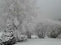 zima - chalupa k pronajmutí Josefův Důl