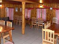 Společenská místnost chalupa Rejdice -