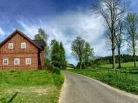 Chalupa k pronajmutí - okolí Černé Říčky