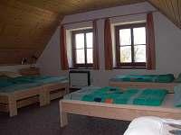 Ložnice apartmánu 1 - Albrechtice v Jizerských horách