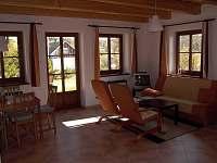 Obývací místnost - ubytování Albrechtice v Jizerských horách