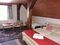Pokoj 2+1+1 ,patro - chalupa ubytování Vysoké nad Jizerou