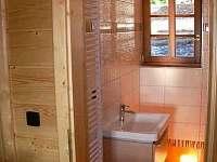 Chata, koupelna
