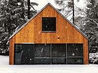 Chalet Bedřichov v zimě -
