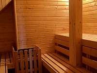 finská sauna - Albrechtice v Jizerských horách