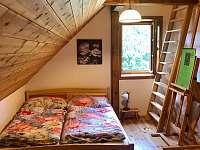 horní ložnice - chalupa ubytování Albrechtice v Jizerských horách