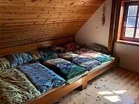 ložnice pro 6 osob - Albrechtice v Jizerských horách