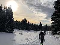 Mariánskohorské boudy na běžkách - Albrechtice v Jizerských horách