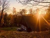 podzim - západ slunce - Albrechtice v Jizerských horách