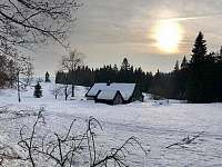 procházky ve sněhu - Albrechtice v Jizerských horách