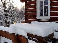 sezení se sněhovou peřinou - Albrechtice v Jizerských horách
